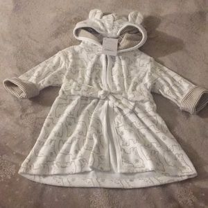 Carters infant robe 0-9 months